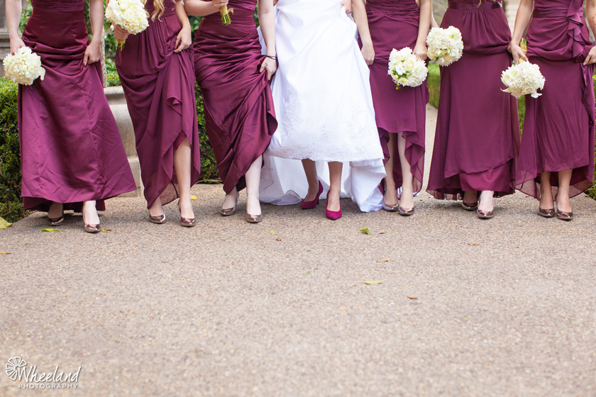 San Diego Balboa Park Bridesmaids Shoes