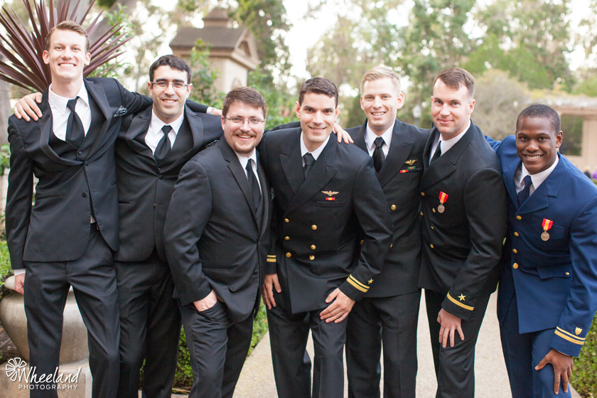 San Diego Balboa Park Wedding Armed Forces Navy Army