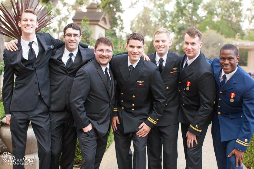 San Diego Balboa Park Wedding Armed Forces Navy Army