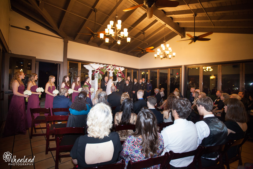 San Diego Wedding Admiral Baker Club Night Wedding