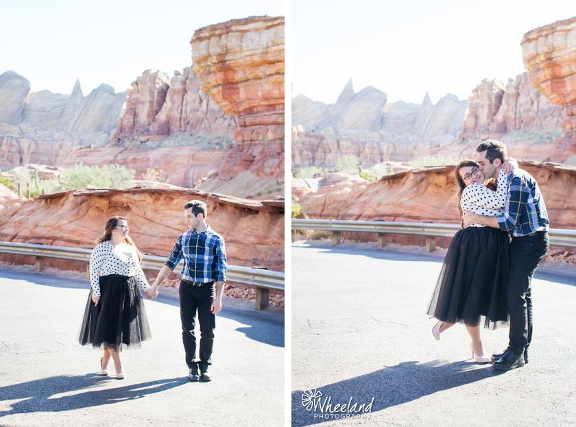 Disneyland Engagement Photos California Adventure