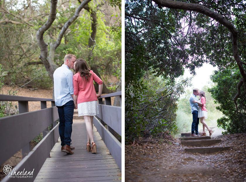 Engagement Photos Oak Canyon Nature Center Anaheim