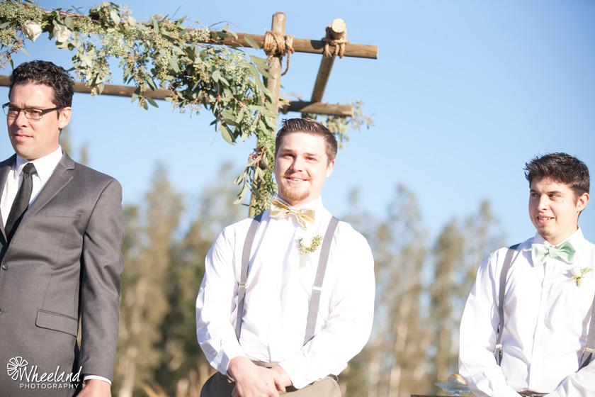 Rancho Santa Margarita Gold White Wedding