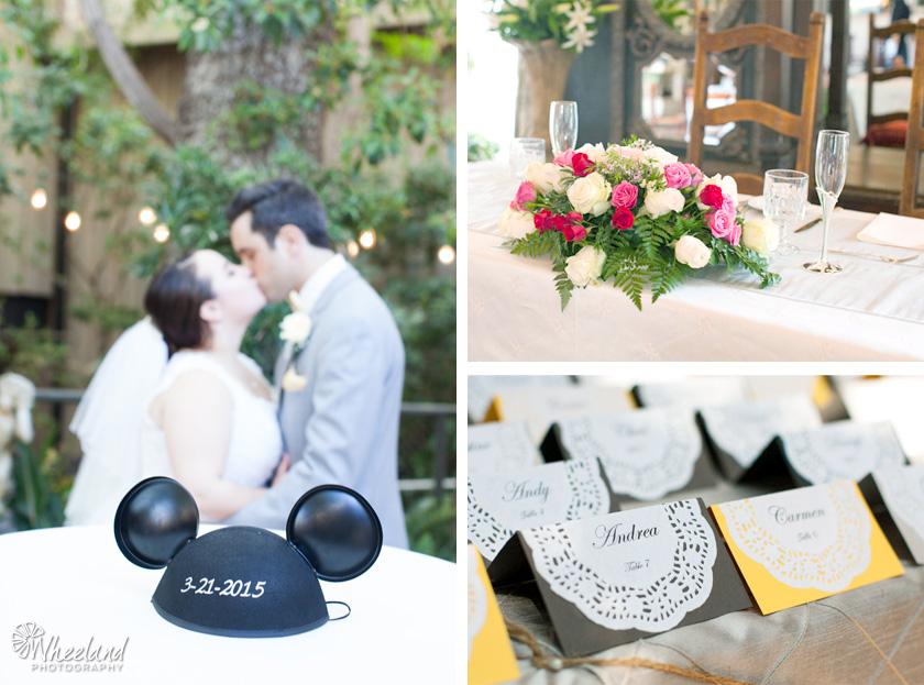Laguna Beach Wedding Tivoli Terrace Wheeland Photography Disney