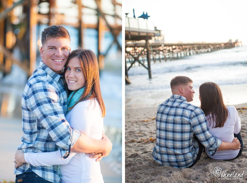 San Clemente Engagement Images