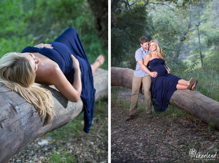 Holy Jim Canyon Maternity Photoshoot