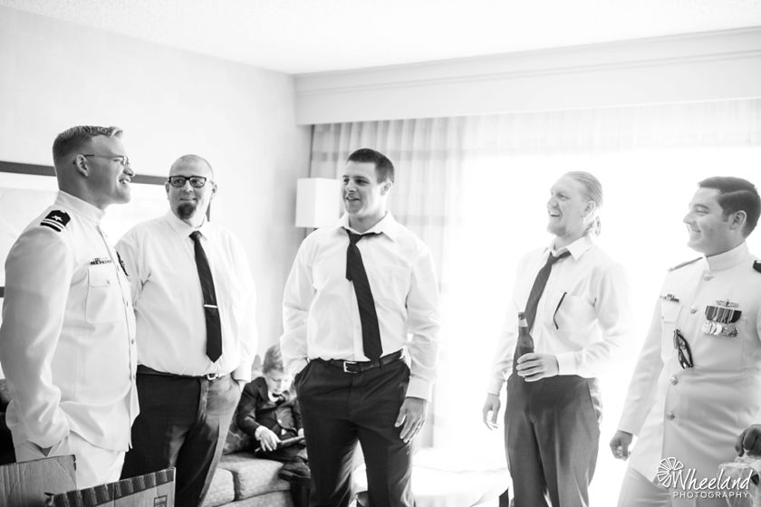 Navy Wedding Orange County Military