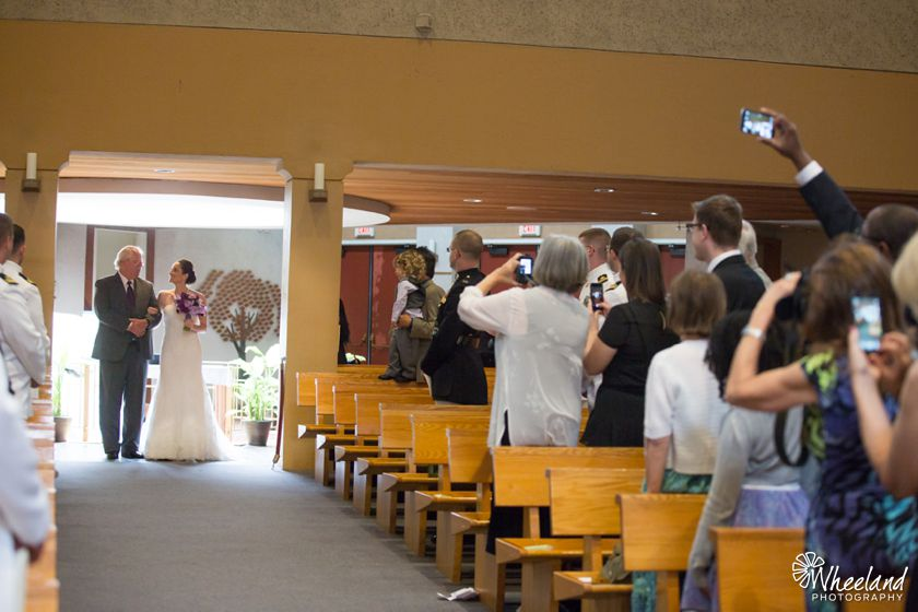 Holy Spirit Catholic Church Wedding Orange County