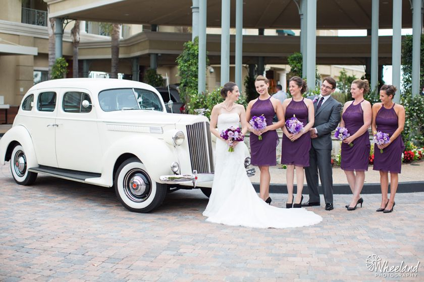 Balboa Bay Resort Wedding Lake Forest Limousines Classic Car