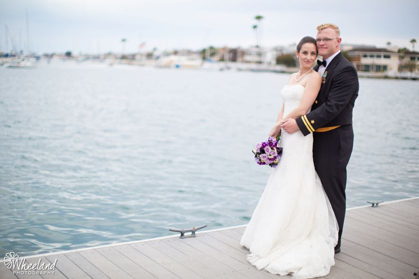 Balboa Bay Yacht Club Wedding