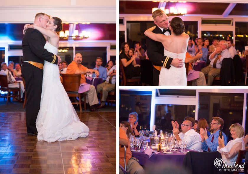 Balboa Bay Yacht Club Wedding first dance
