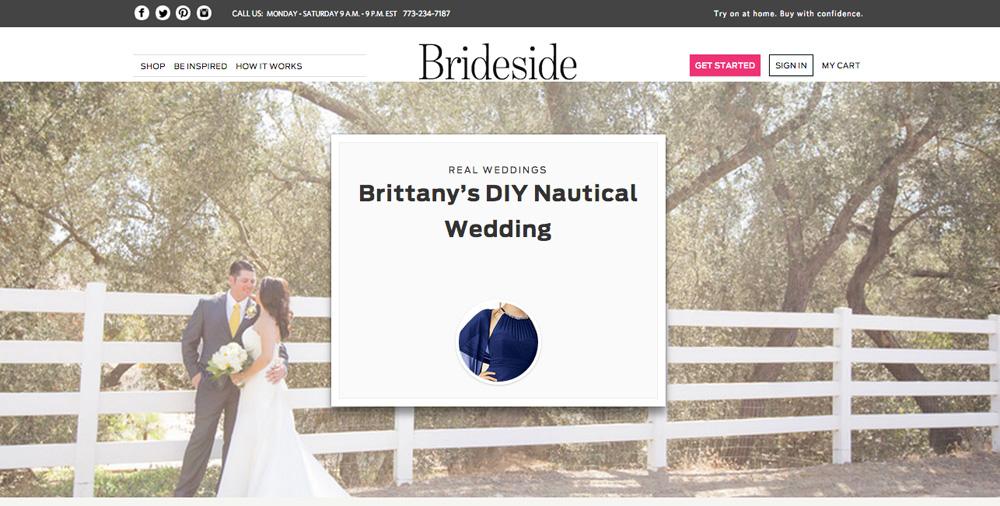 Brideside Feature