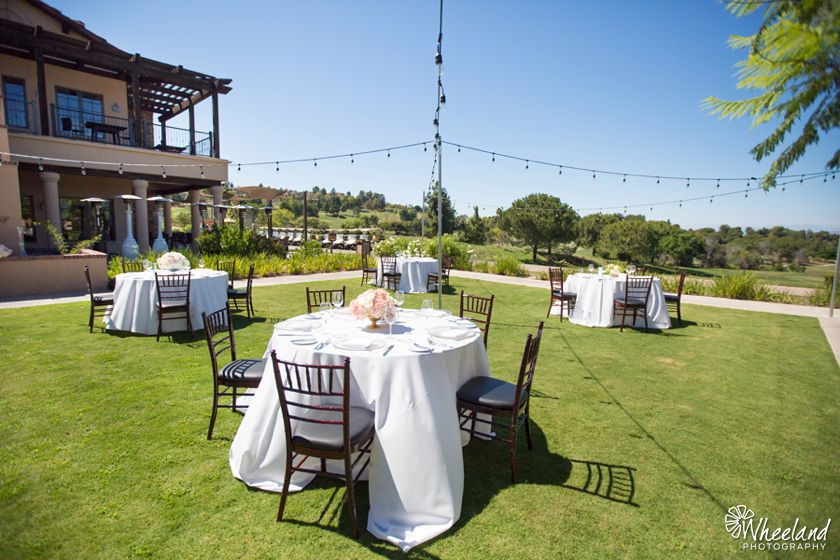 Aliso Viejo Country Club Bridal Open House Wedding