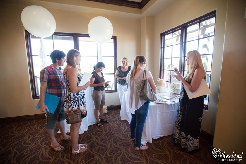 Aliso Viejo Country Club Bridal Open House Wedding