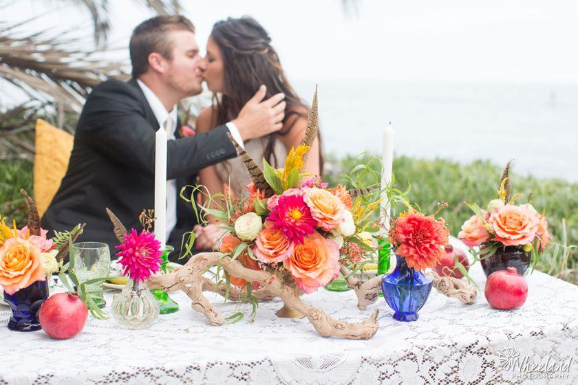 Boho Beach Wedding Photos