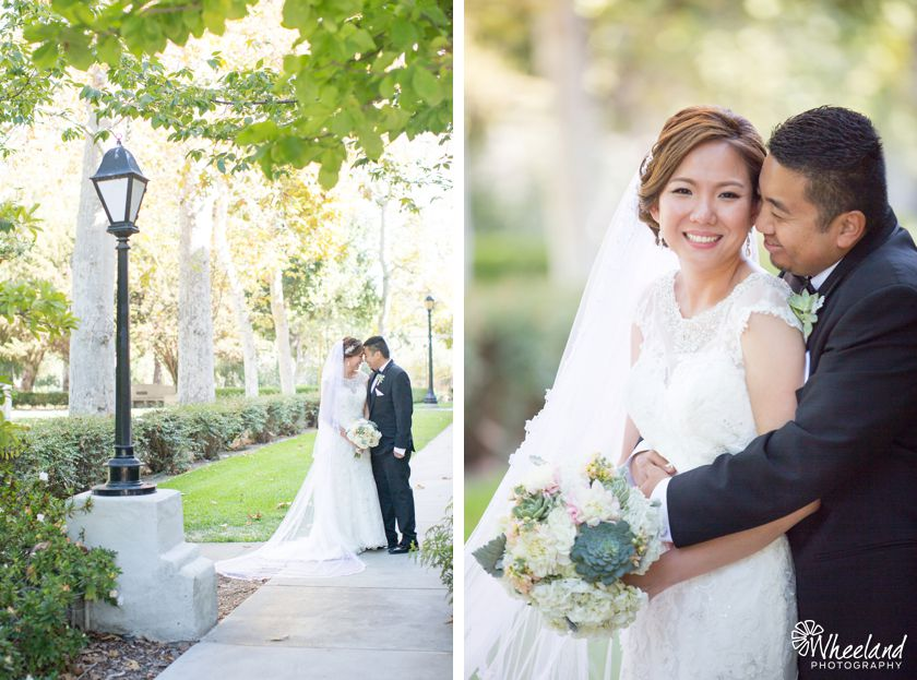 Double Tree Claremont Wedding
