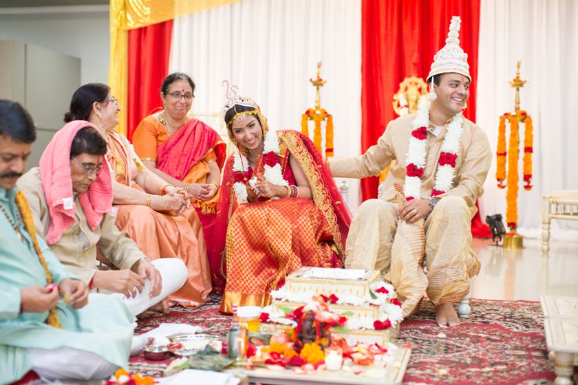 Orange County Indian Wedding Ceremony
