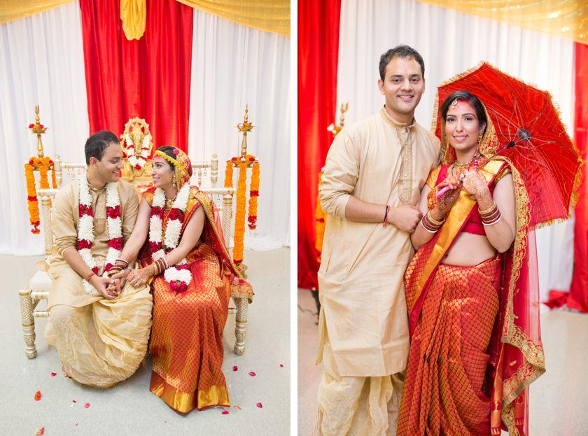 Orange County Indian Wedding Ceremony