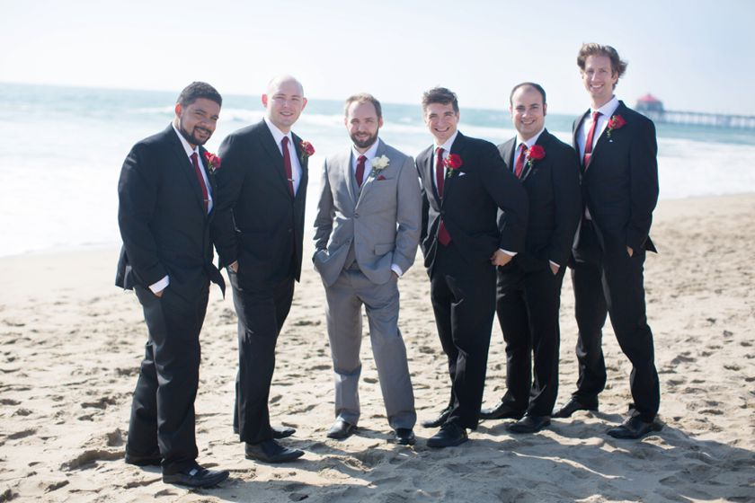Waterfront Beach Resort Wedding Huntington Beach