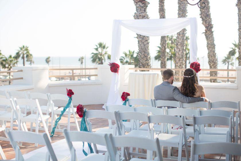 Waterfront Beach Resort Wedding Huntington Beach