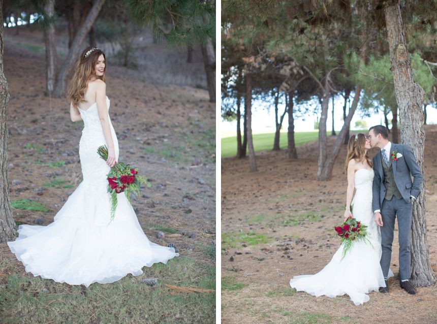 Christmas wedding Bella Collina San Clemente