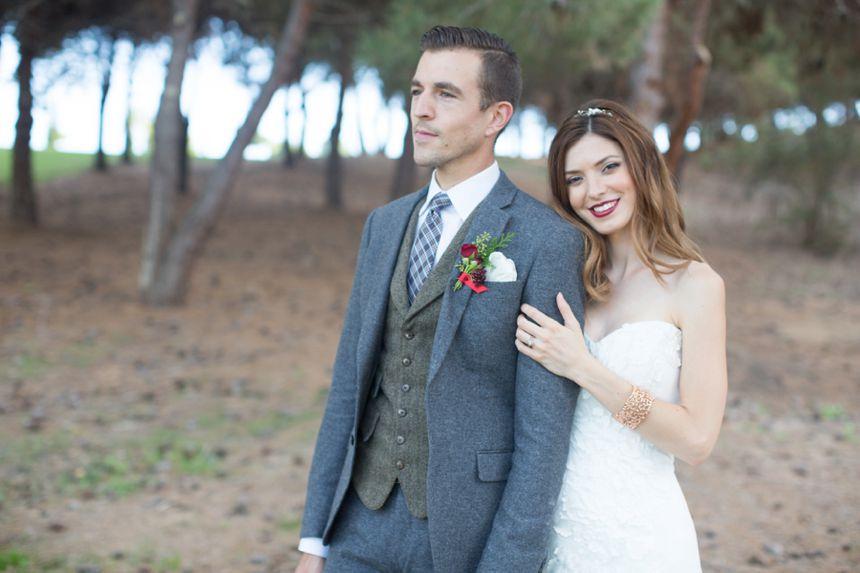 Christmas wedding Bella Collina San Clemente