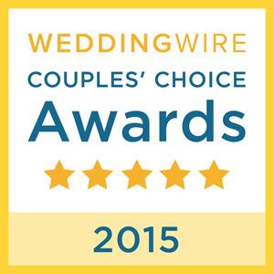 Wedding Wire Couple's Choice Award 2015