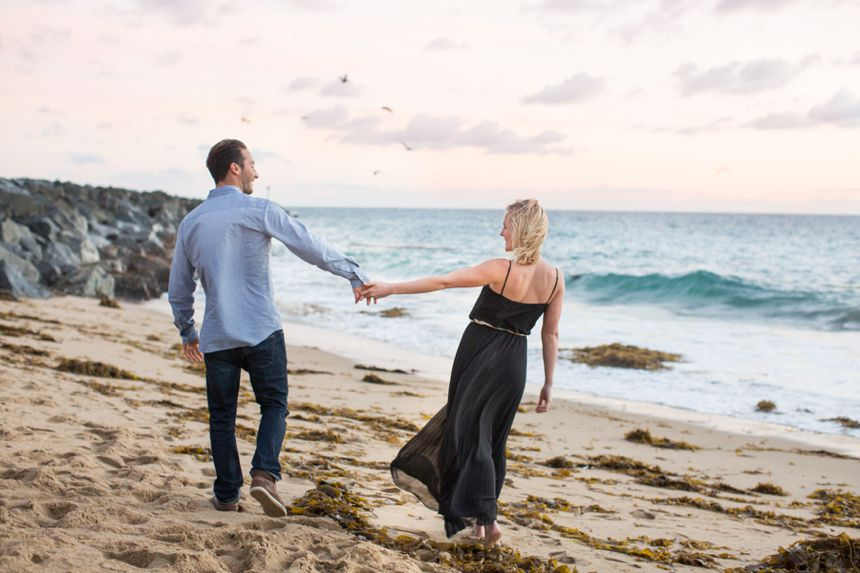 Newport Beach Engagement Photos