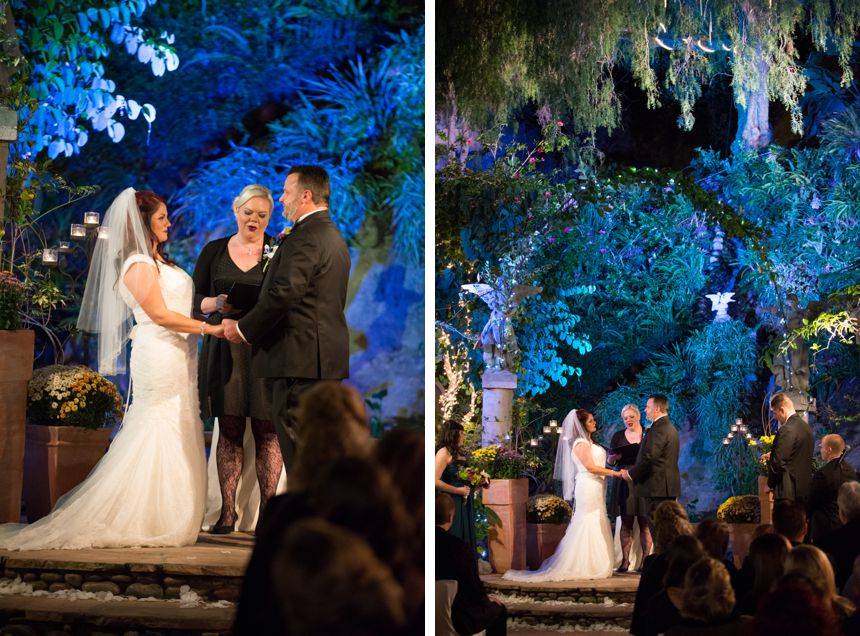Peacock theme Tivoli Too Laguna Beach Wedding