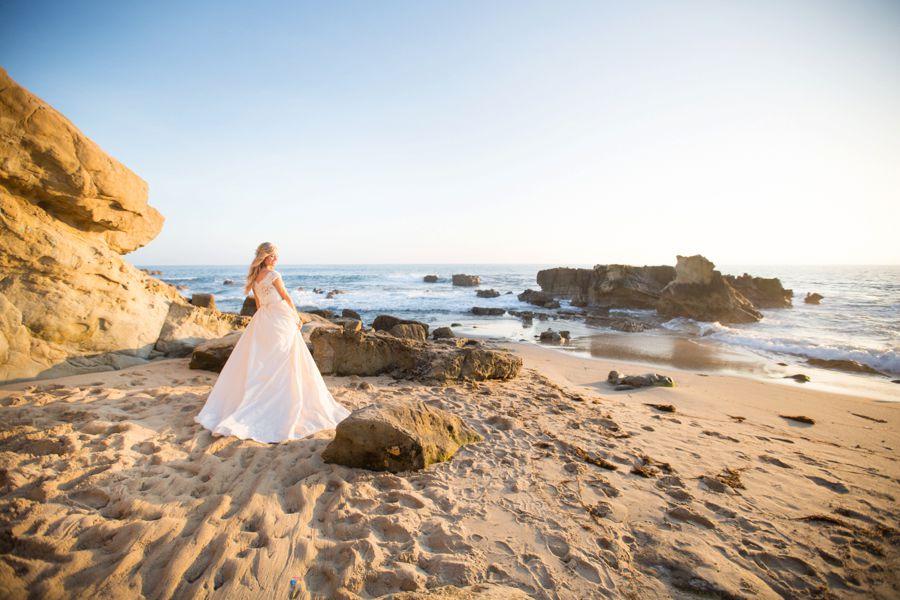 Laguna Beach Wedding Casablanca Bridal Tea Party