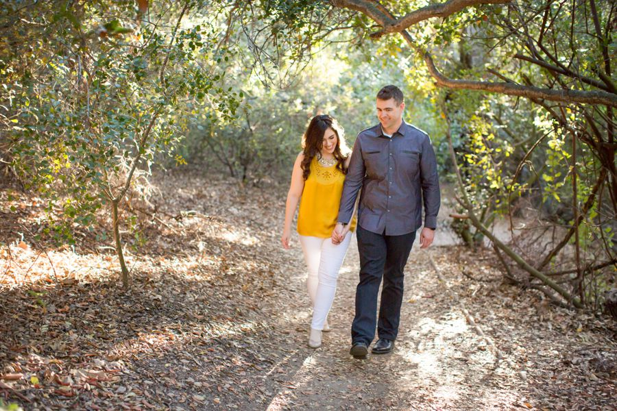 Oak Canyon Nature Center Engagement Photos