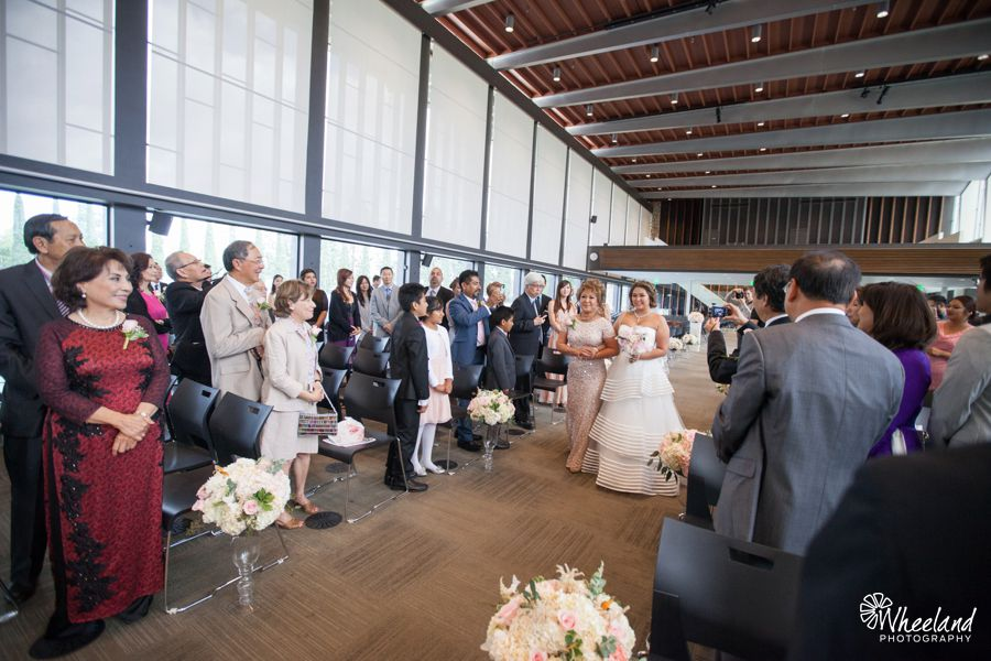 Christ Cathedral + Turnip Rose Wedding