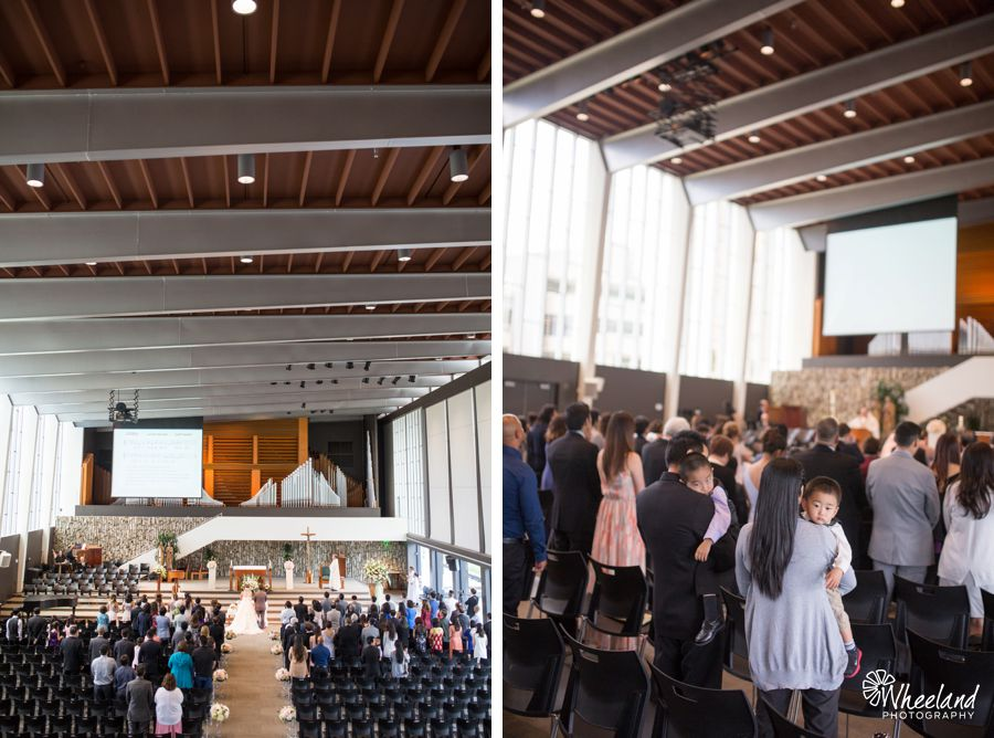 Christ Cathedral + Turnip Rose Wedding