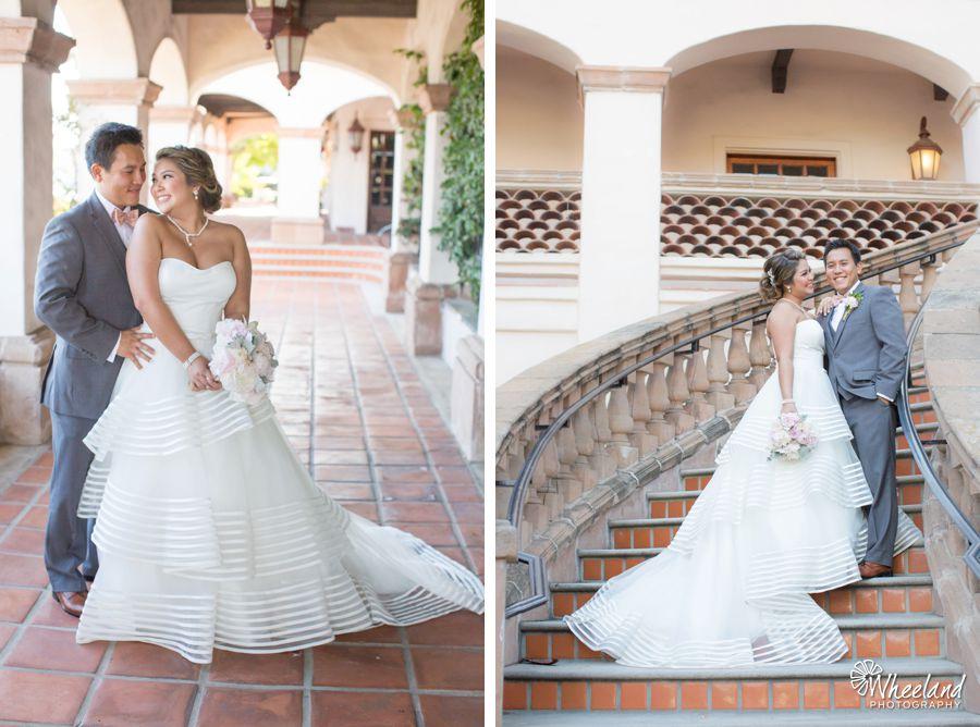Crystal Cathedral + Turnip Rose Wedding