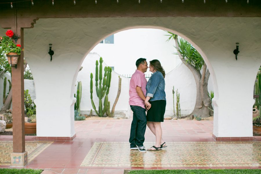 Casa Romantica San Clemente Engagement Wedding Photographer
