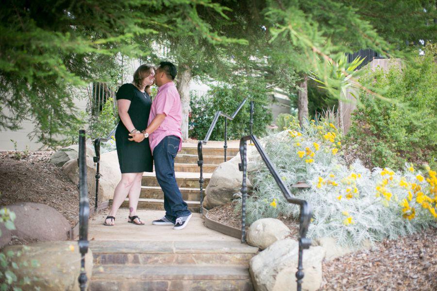 Casa Romantica San Clemente Engagement Wedding Photographer