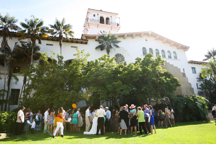 Santa Barbara Historic Courthouse Wedding Featured on The Knot