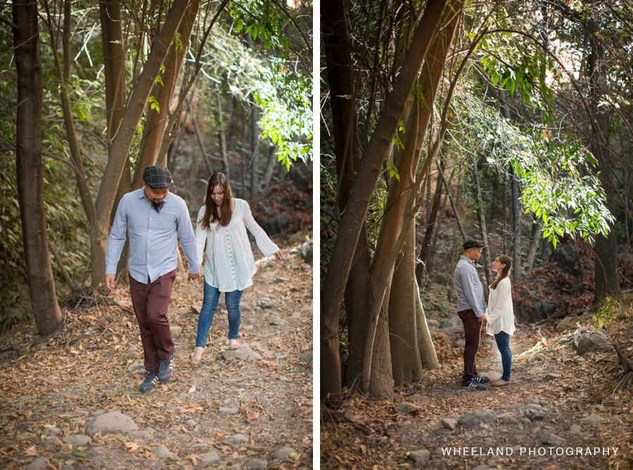 Couple Encounters a Black Metal Band in Woods During Engagement Shoot