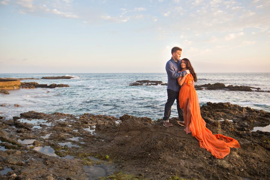 Orange County Beach Engagement