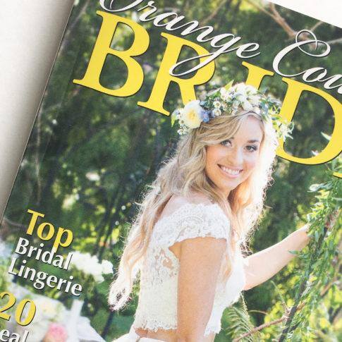 Orange County Bride Magazine Feature