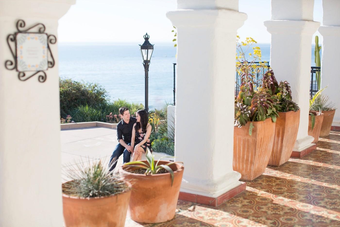 Casa Romantica San Clemente Engagement