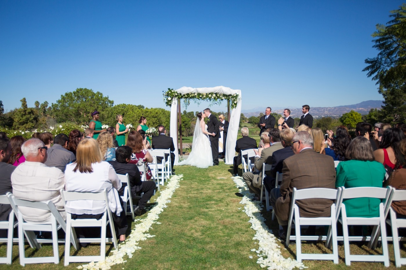 Aliso Viejo Country Club Wedding