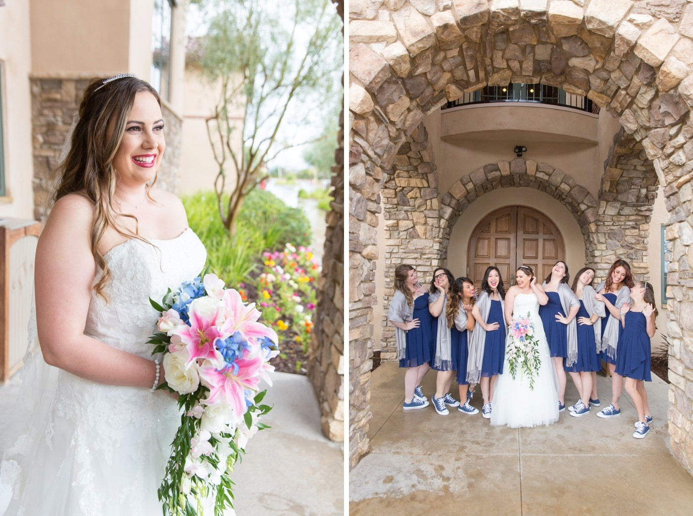 Aliso Viejo Country Club rained out wedding