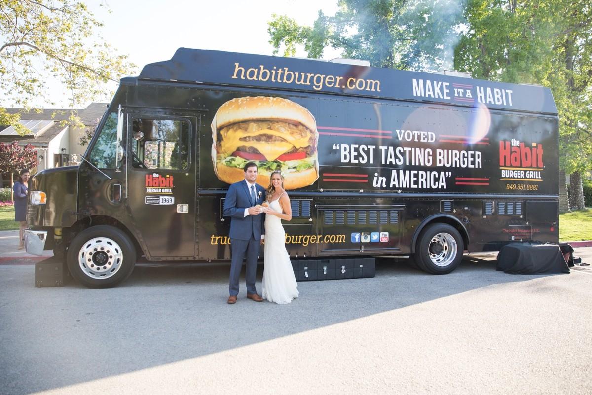 Habit Burger Truck Wedding