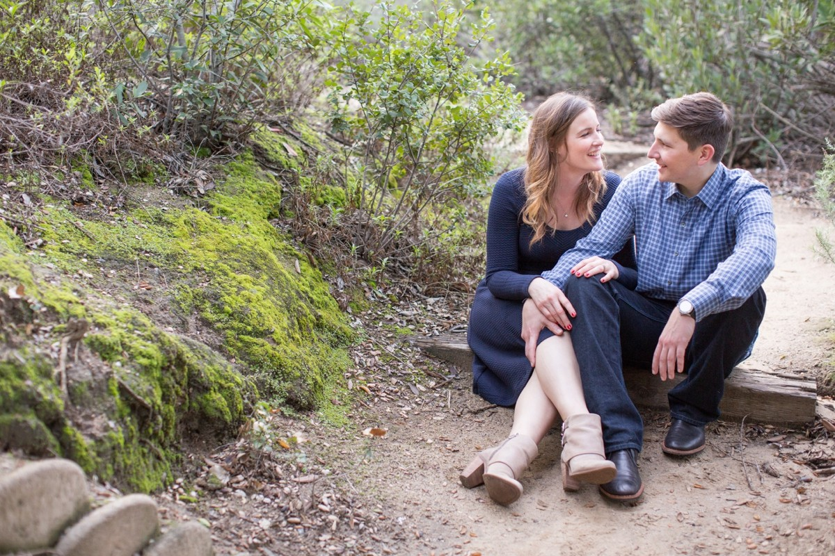 Oak Canyon Nature Center Engagement Photos