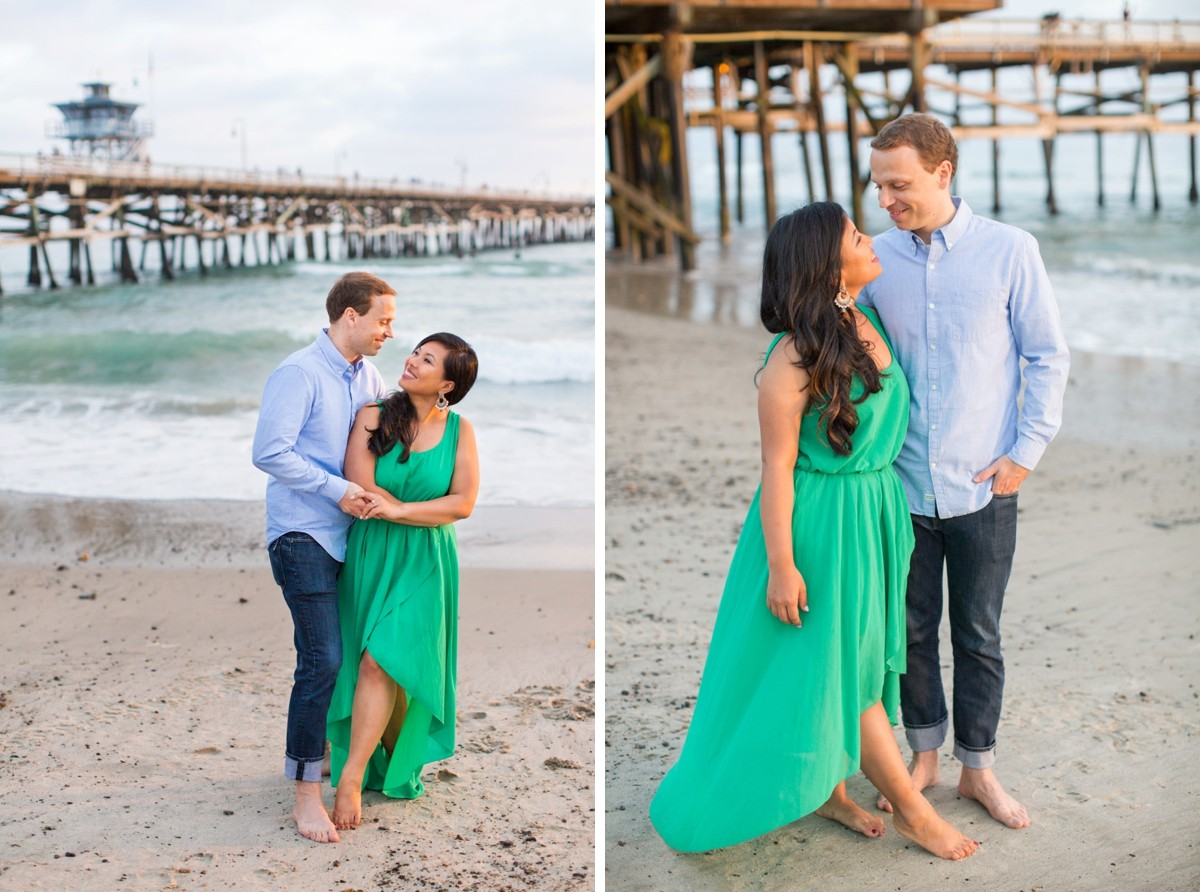 Casa Romantica Engagement Session