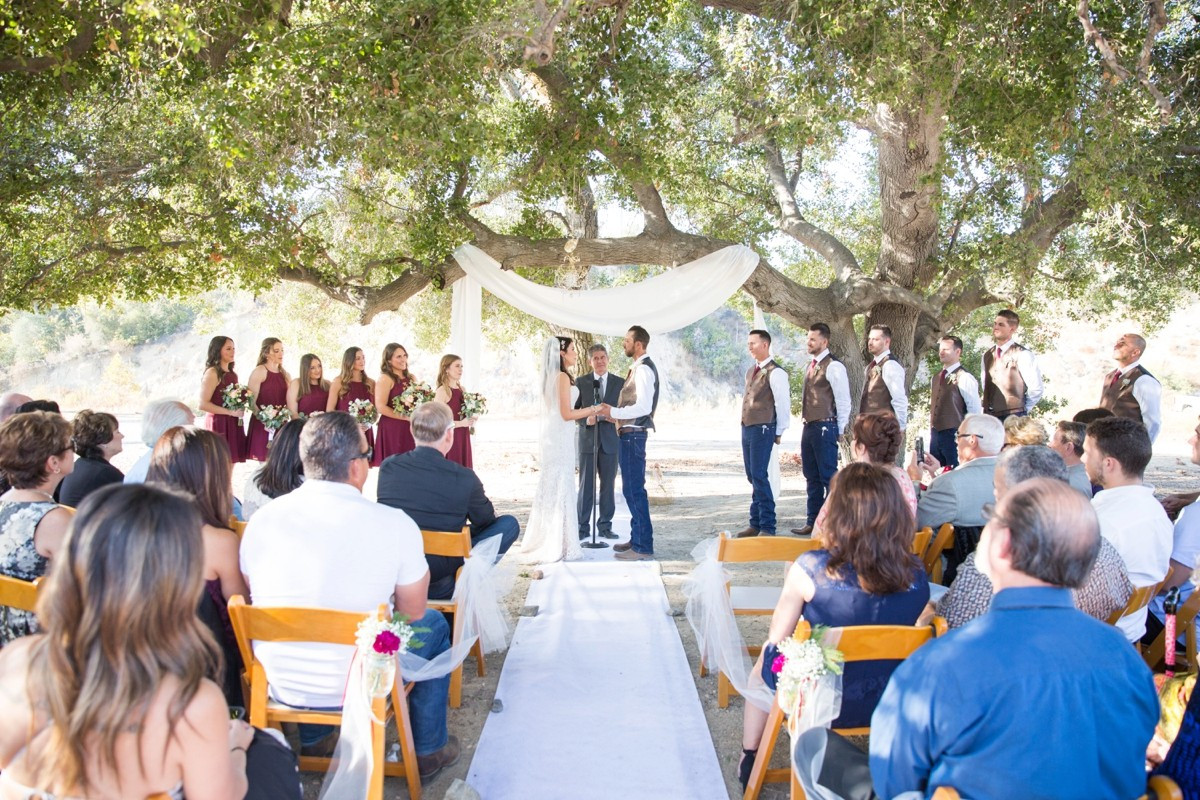 Holy Jim Canyon Wedding Parker Ranch