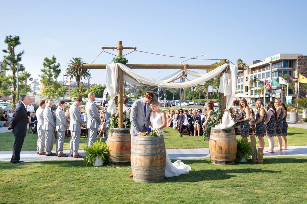 San Diego Wedding Stone Brewery