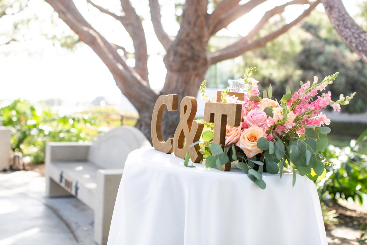 Heritage Park Dana Point Intimate Beach Wedding