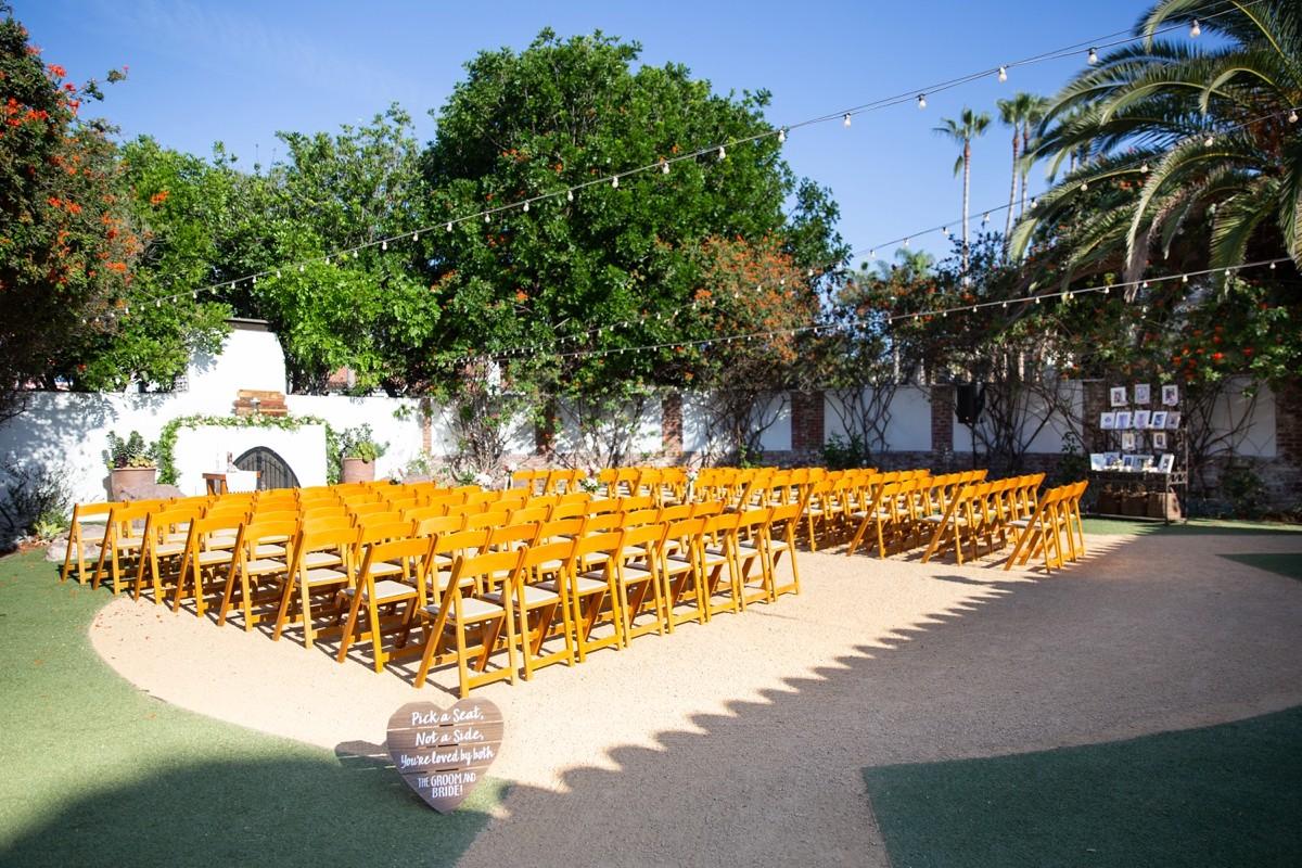The Casino San Clemente Wedding